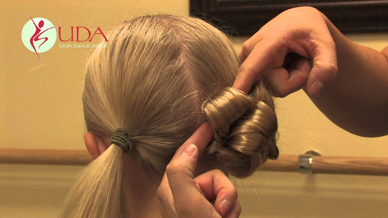Hairstyles For A Lyrical Dance : Dance competition hair demonstration junior mini teams