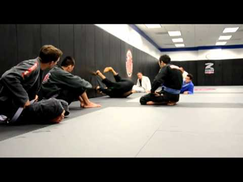 Los Angeles Martial Arts Cobrinha BJJ Guard Recovery Drill Image 1