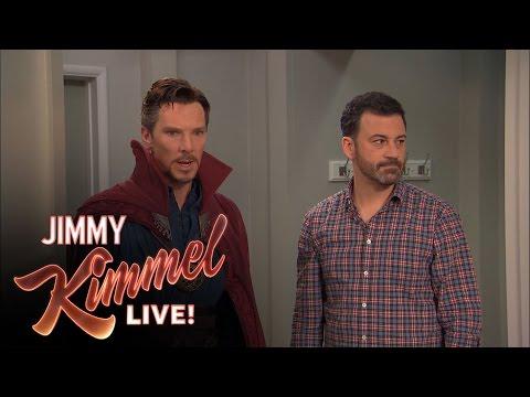 Jimmy Kimmel Hires Dr Strange