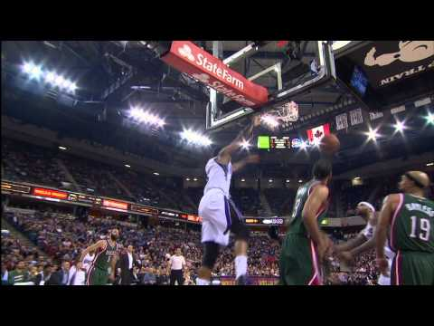 Rudy Gay Drives By Bucks for the Strong Jam