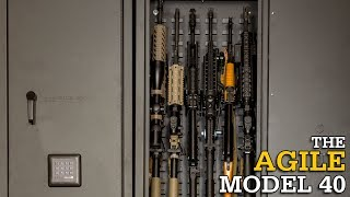 Agile Model 40 Overview | Add-On Gun Cabinet