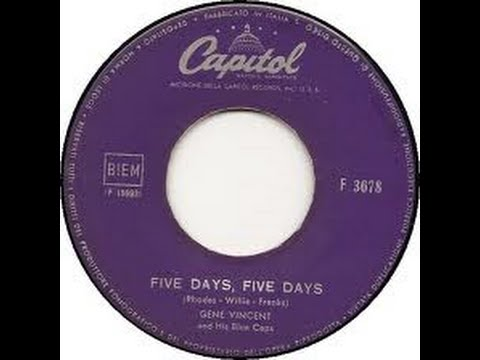 Gene Vincent - Five Days, Five Days
