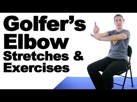 Download Lagu Golfer's Elbow Stretches & Exercises - Ask Doctor Jo.mp3