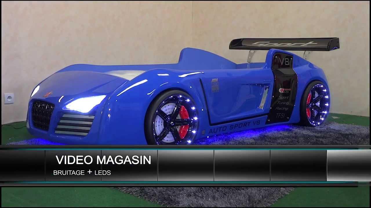 Lit voiture pour enfant v8 youtube - Lit voiture pour enfant ...