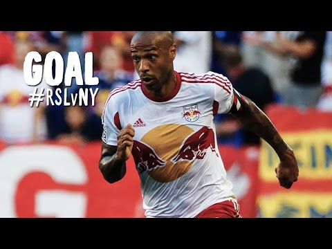 GOAL: Thierry Henry calmly tucks one inside the post | Real Salt Lake vs New York Red Bulls