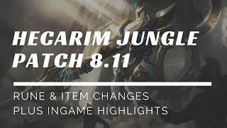 Hecarim Jungle Season 8: The Jungle Predator Guide Patch 8.11 Stormrazor Hecarim