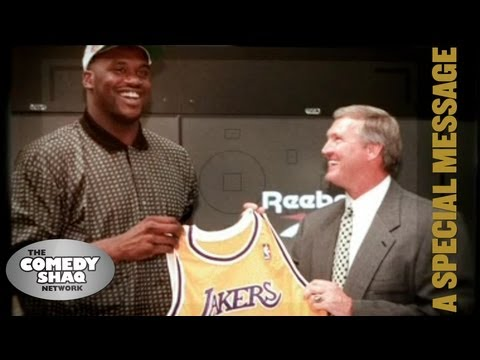 I Want To Thank So Many⎢Shaquille O'Neal's Lakers Jersey Retirement Speech⎢Comedy Shaq