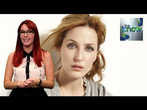 Gillian Anderson Wants to be in Ghostbusters 3 - The Know