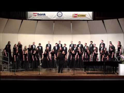 Go Tell It On The Mountain Performed by the Westside Christian High School Concert Choir - 05/09/2014
