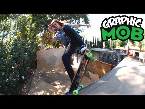 Chris Gregson: Graphic MOB x Independent | Backyard Ramp Hell Hounds
