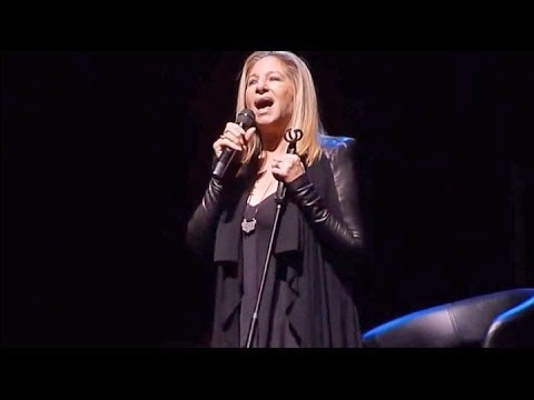 Barbra Streisand Send in the Clowns Live in NY 2013