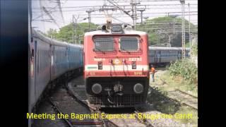 Chennai Mysore Shatabdi Express: Full Journey Compilation