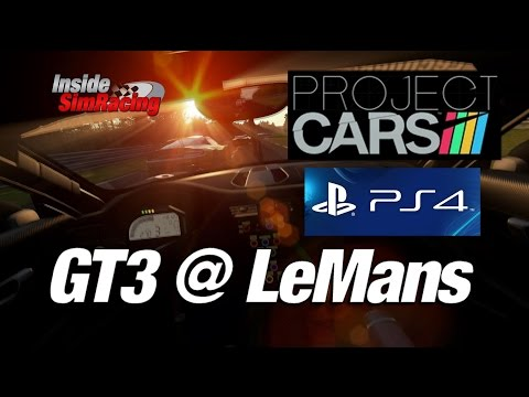 Project CARS PS4 GT3 @ Le Mans Day to Night