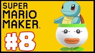 BEST POKEMON LEVEL STAGE! - Super Mario Maker - Super Mario Maker Create Gameplay Part 8