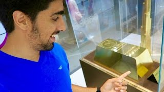 $6.5 Million Dollar Gold Bar !! 160kg of pure Gold !!!