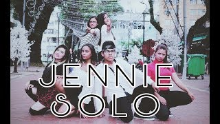 [K-POP IN PUBLIC COLOMBIA]_ SOLO_JENNIE_ Dance Cover_ Aeternum Dance Crew