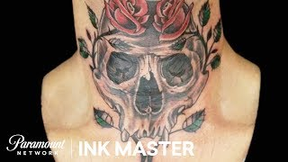 Under the Chin: Testing Adaptability - The Master's Flash Challenge   Ink Master