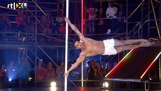 Optreden Jeffrey Wammes - Show 1 - CELEBRITY POLE DANCING