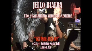 """NAZI Punks FUCK OFF"" Live by Jello Biafra & The Guantanamo School of Medicine"