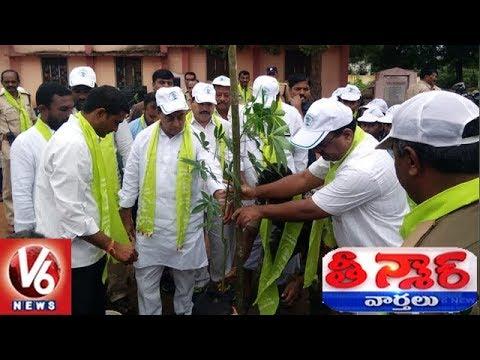 Minister Indrakaran Reddy Takes Jogu Ramanna Green Challenge, Plant Saplings | Teenmaar News