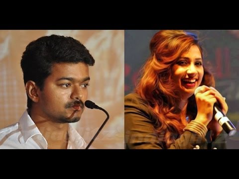 Vijay Sings With Shreya Ghoshal For Jilla | Hot Tamil Cinema News | Mohanlal, Kajal Agarwal video