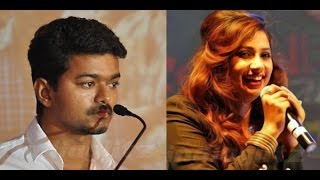 Jilla - Vijay sings with Shreya Ghoshal for Jilla | Hot Tamil Cinema News | Mohanlal, Kajal Agarwal