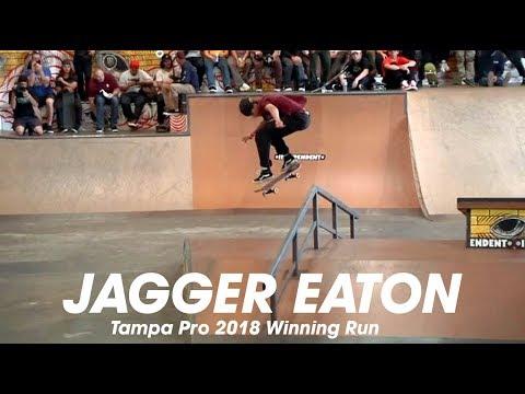 Jagger Eaton: Tampa Pro 2018 | 1st Place Run