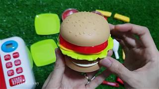 Kitchen Toys Learn to Prepare Burger French Fries