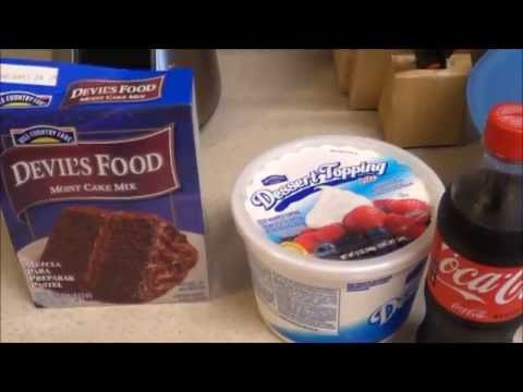 Cooking w/Vee: 3 Ingredient Chocolate Cake