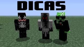 Minecraft: Nikki, Venom Extreme e Zoa - Dicas para novos canais
