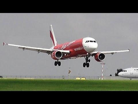 AirAsia landing