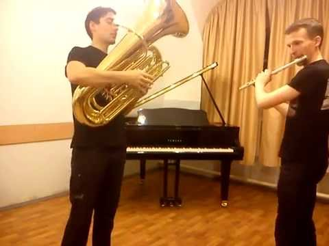 iPhone, Tuba and FluteBox - Wiggle (Orchestra Beat)