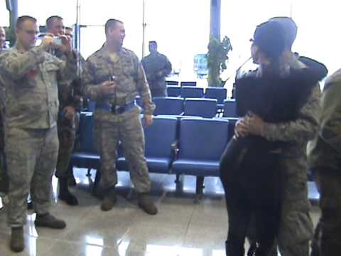 Mayra Veronica Greeted by soldiers Video