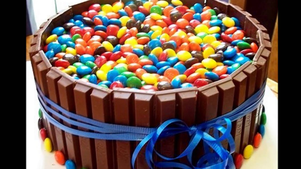 Cake Designs You Can Do At Home : Homemade Birthday Cakes - YouTube