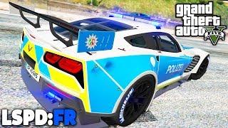 GTA 5 LSPD:FR - Das SCHNELLSTE POLIZEIAUTO? - Deutsch - Polizei Mod #70 Grand Theft Auto V