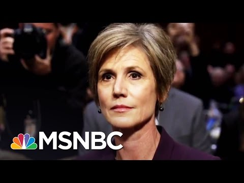 Matthews: Sally Yates Makes President Donald Trump Look Bad | Hardball | MSNBC