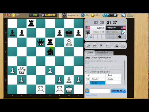 Live Blitz Chess with Commentary 43 (London System)