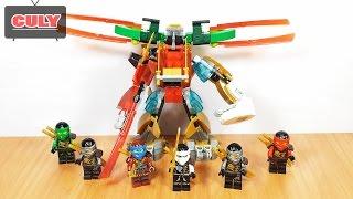 6 Anh Em Lego NinjaGo kết hợp thành Robot Samurai brick toy for kids đồ chơi trẻ em