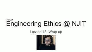 Lesson 15: Wrap up