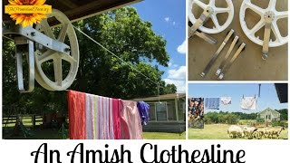 An Amish Clothesline (5 Reasons to Hang Laundry in the Sun)