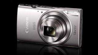 01. Canon IXUS 285 HS tutorial video