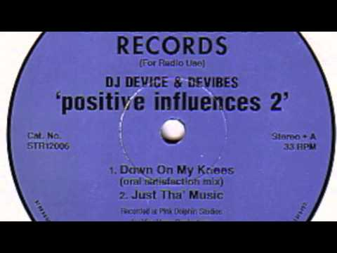 DJ Device & Devibes - Just Tha' Music (Stronghouse Records) 1995
