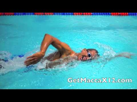 MaccaX12 Review - Chris McCormack Swim Workout