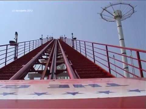 Great American Scream Machine - Six Flags Great Adventure - POV