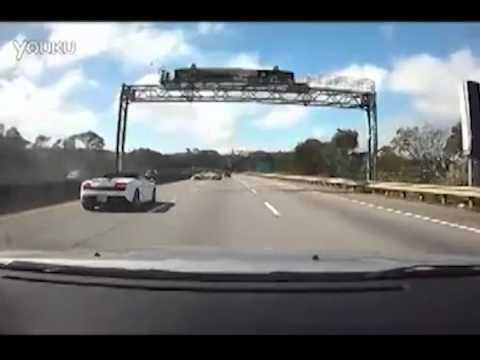 Авария Lamborghini Gallardo