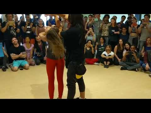 CZC'18 :: Anna & Mafie in Friday workshop demo ~ video by Zouk Soul.