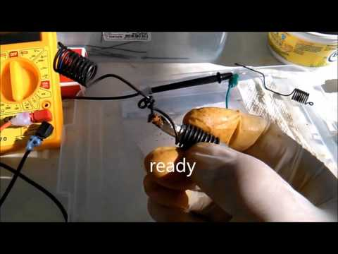 Making Plasma Batteries, Alekz Beads, How To Make, Free Plasma Energy, Experiment 2 Part 3 Keshe