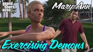 GTA 5 - All Mary Ann Missions ¦ Exercising Demons - Michael, Franklin, Trevor (Gold Medal)