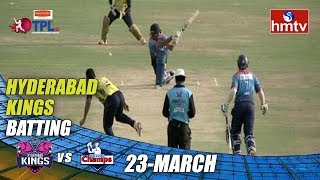TPL Season 2 Day - 1 | Hyderabad Kings Vs Cyberabad Champs | LB Stadium | hmtv