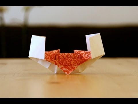 Chinese Junk Origami Origami Tutorial Chinese